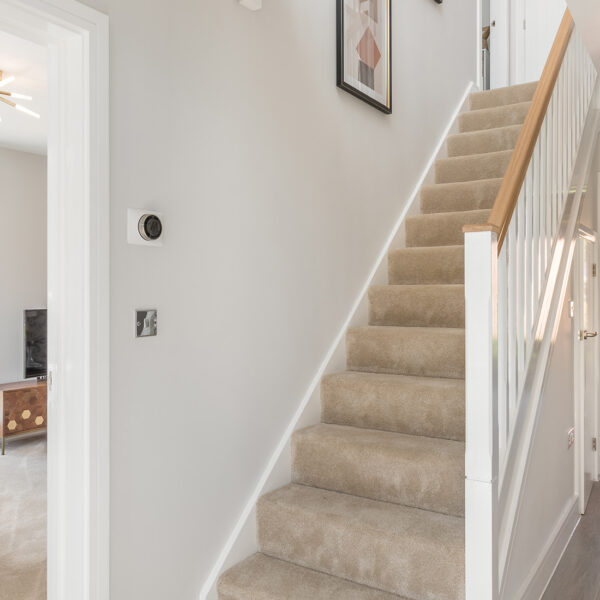 Garnet Heathy Wood Hallway