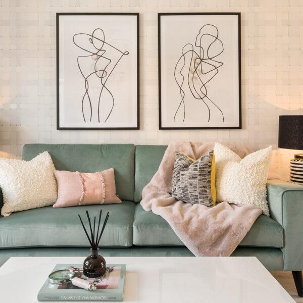 Heiro Heathy Wood Living Room