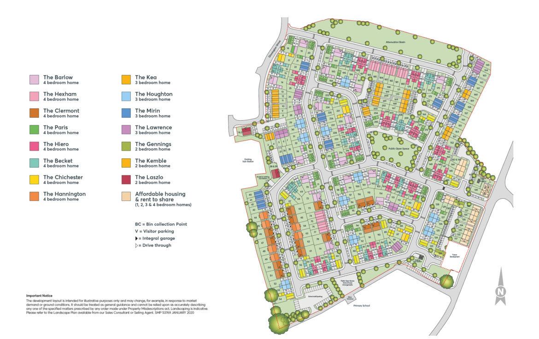 Banbury Place Site Plan