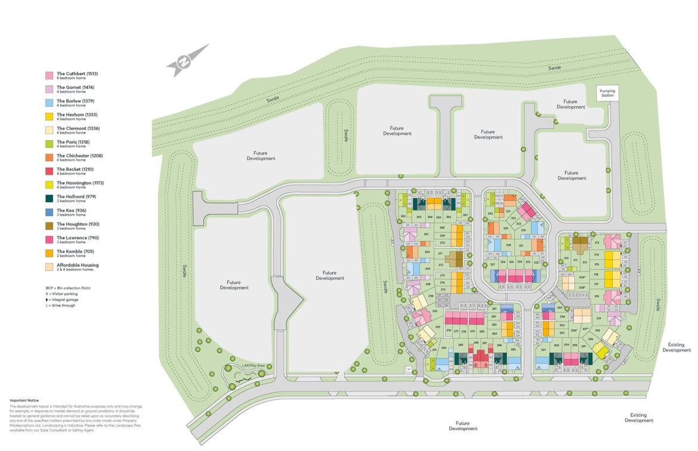 Branston Leas Phase 4 Site Plan