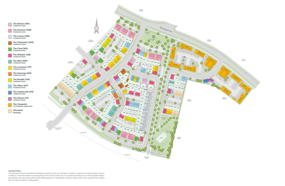 Edison Place Site Plan