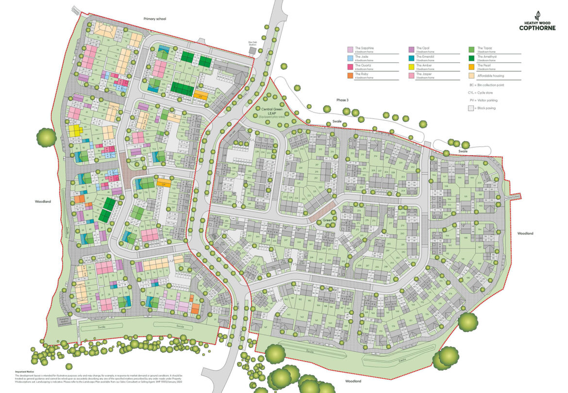 Heathy Wood Pure Site Plan