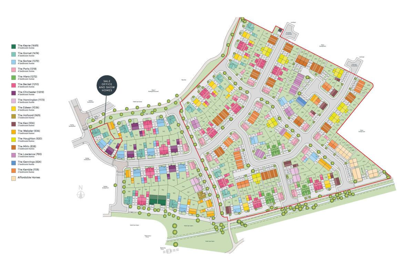 Hilton Valley 2A & 2B Site Plan