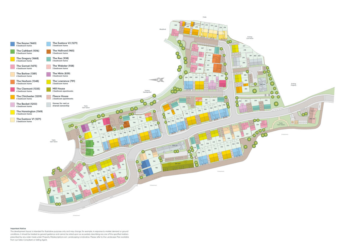 Littlecombe Site Plan