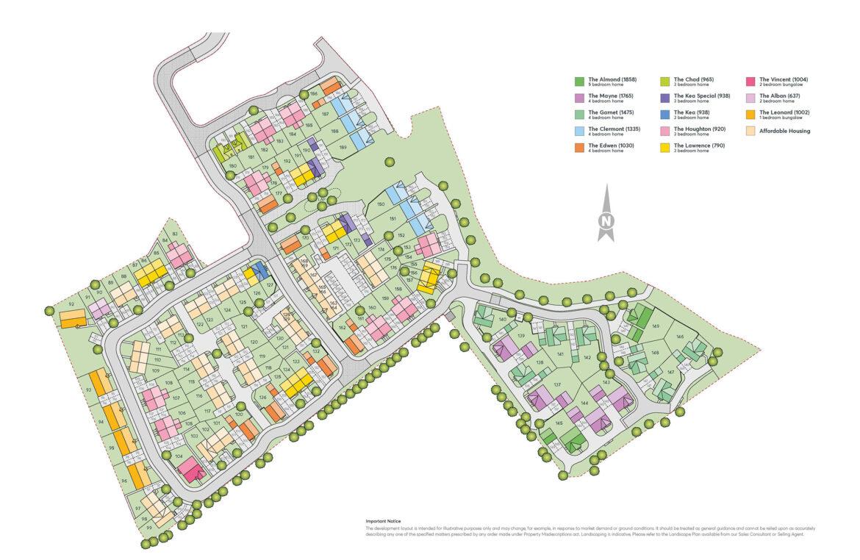 Meon Vale 3b Site Plan