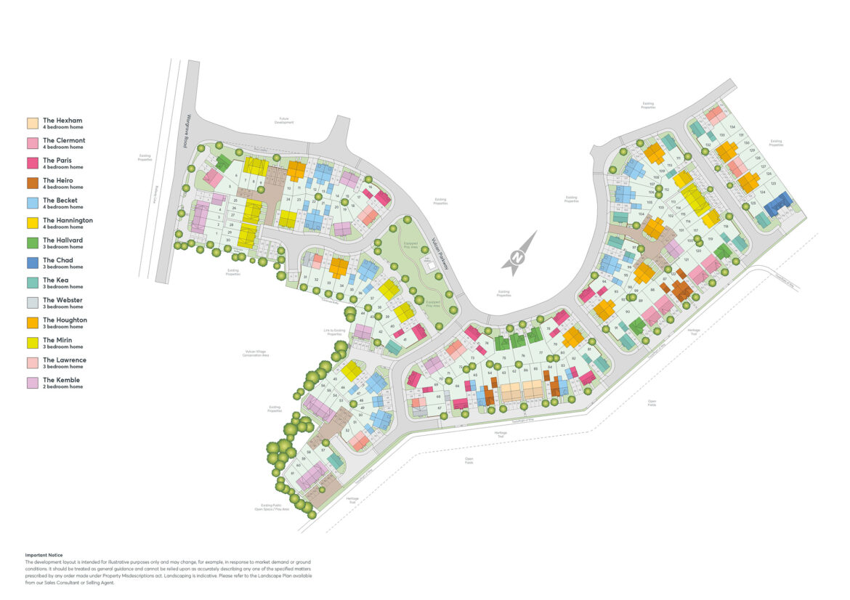 Tayleur Leas Site Plan