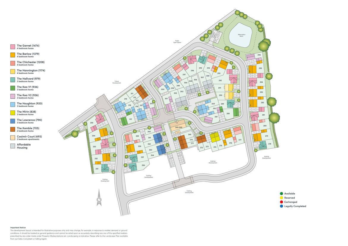 Bramshall Meadows Phase 2a Site Plan