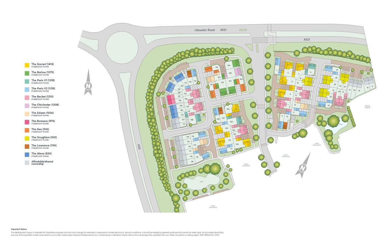 Blythe Fields Site Plan