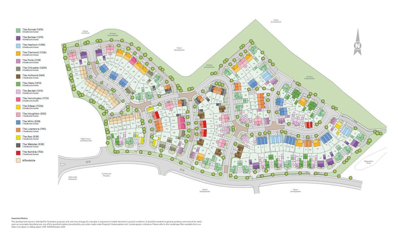 Egstow Park Phase 2 Site Plan