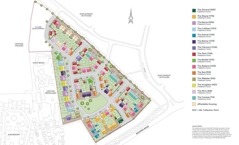 Crabhill Kingsgrove Site Plan