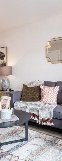 Houghton Trentham Manor Living Room