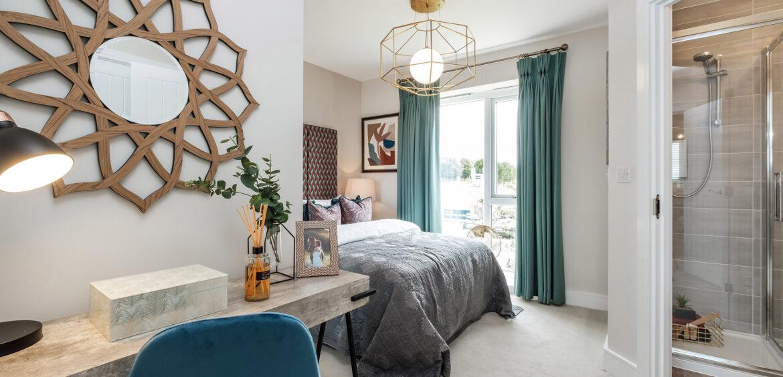 Houghton Trentham Manor Master Bedroom