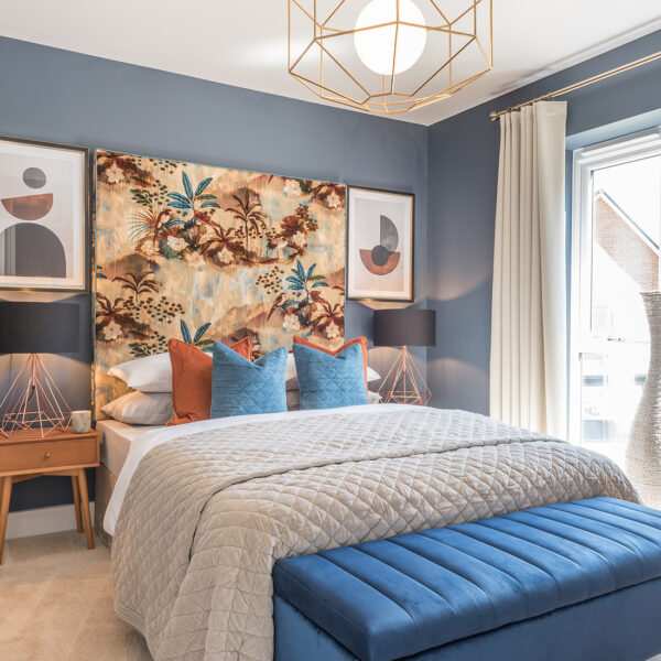 Mayne (Garnet) Heathy Wood Master Bedroom