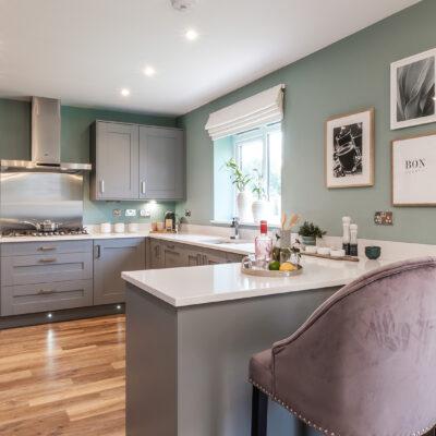 Almond (Keyne) Trentham Manor Kitchen Diner