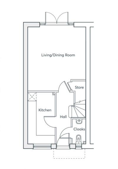Mirin Hilton 2B (ground floor)
