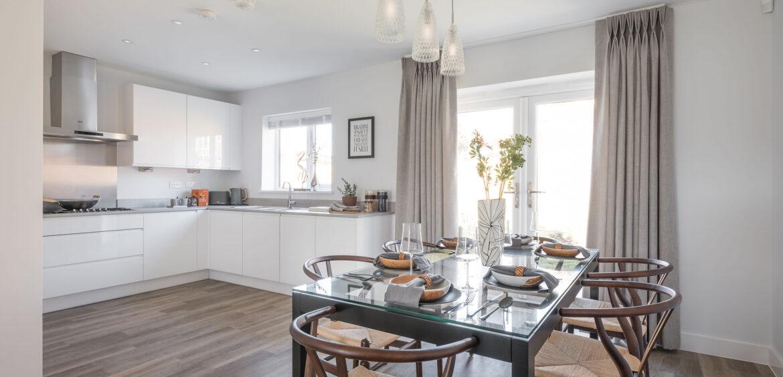 The Ruby Heathy Wood Open Plan Kitchen Diner