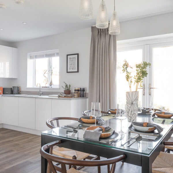 The Ruby Heathy Wood Open Plan Kitchen Diner