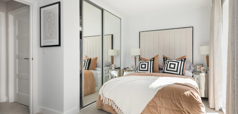 The Ruby Heathy Wood Master Bedroom