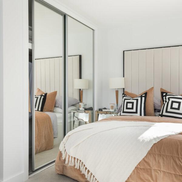 Edwena (Ruby) Heathy Wood Master Bedroom