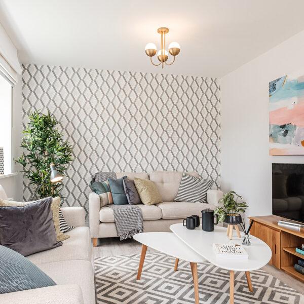 Emerald (Kea) Blythe Fields Living Room