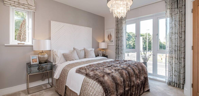 Barlow (open plan) Blythe Fields master Bedroom