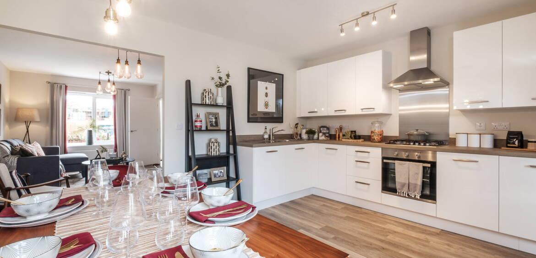 Houghton Trentham Manor Kitchen Diner Living