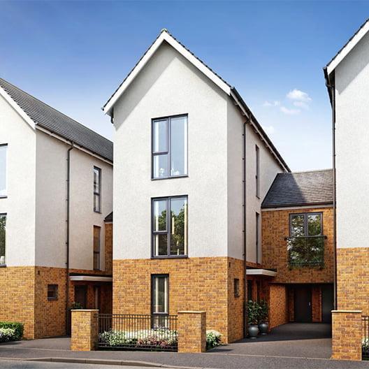 Three-storey homes at Locking Parklands image