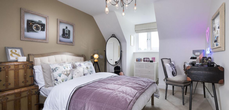 Paris Egstow Park Master Bedroom