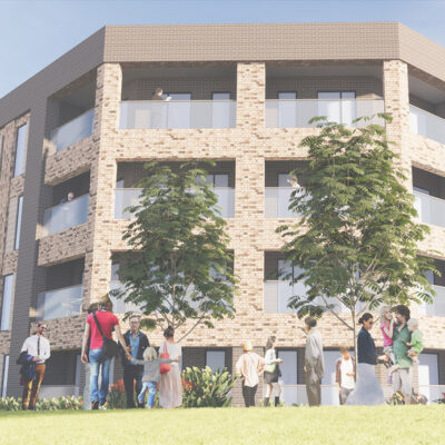 Longbridge Apartment Render