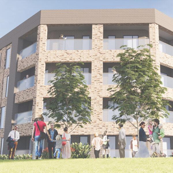 Longbridge Apartment Render