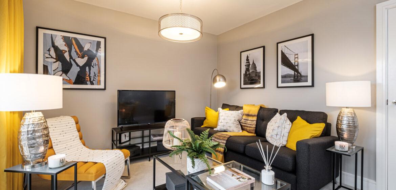 Alena (Lawrence) Branston Leas Living Room