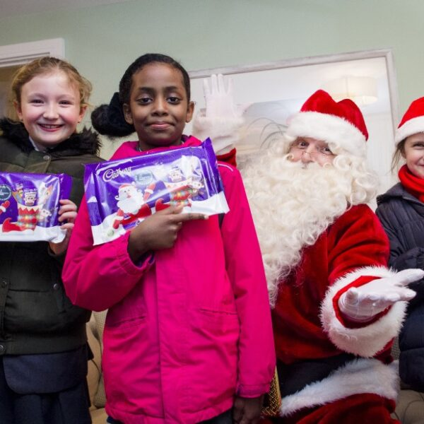Father Christmas, festive treats and friends at Victoria Park
