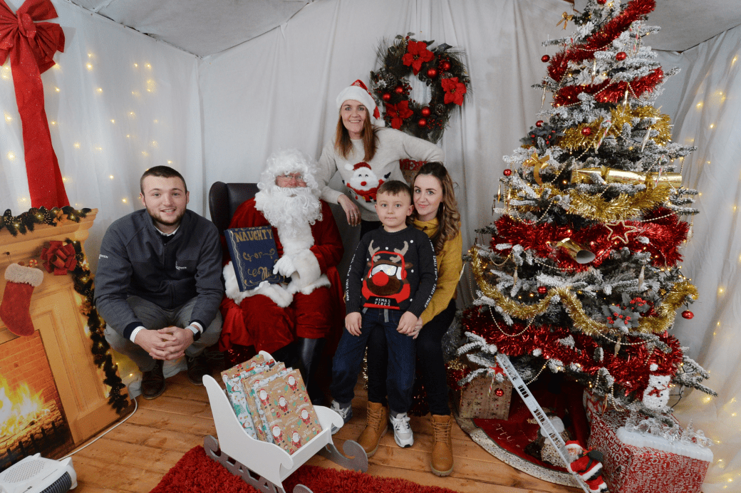 Santa's grotto spotted in Digbeth!