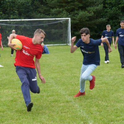 Midlands teenagers showcase rugby skills at RugbyWorks tournament