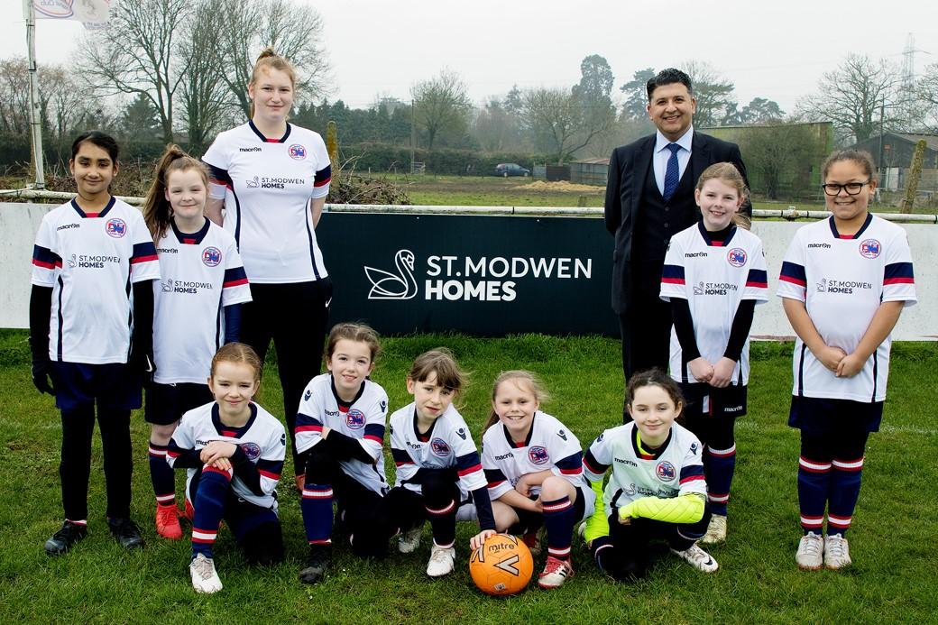 Denham United Ladies FC scores St. Modwen Homes sponsorship