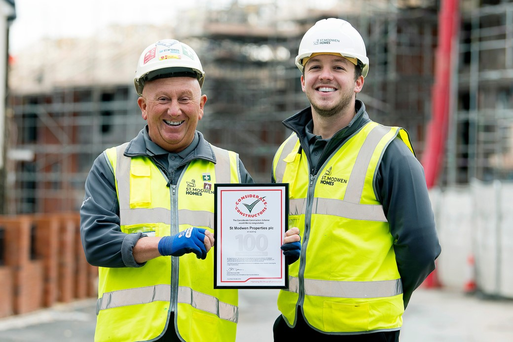 St. Modwen Homes celebrates milestones in Swansea
