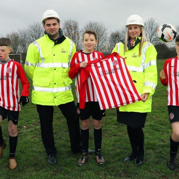 Whittington Falcons shooting for success thanks to St. Modwen Homes sponsorship