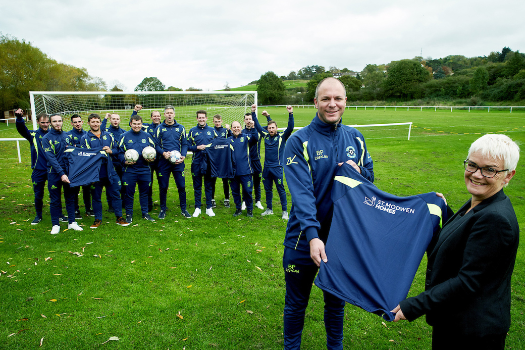 Local football club hits the back of the net with new tracksuits
