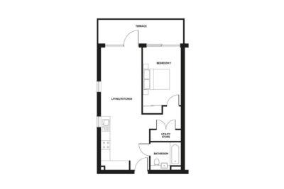Type 2 floorplan