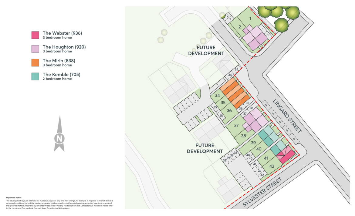 Kiln Gate Site Plan
