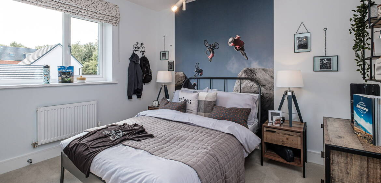 Blythe Fields bedroom