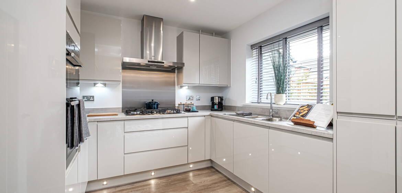 Chichester white kitchen
