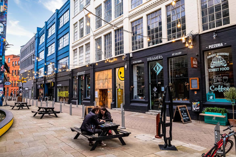 Digbeth area in Birmingham