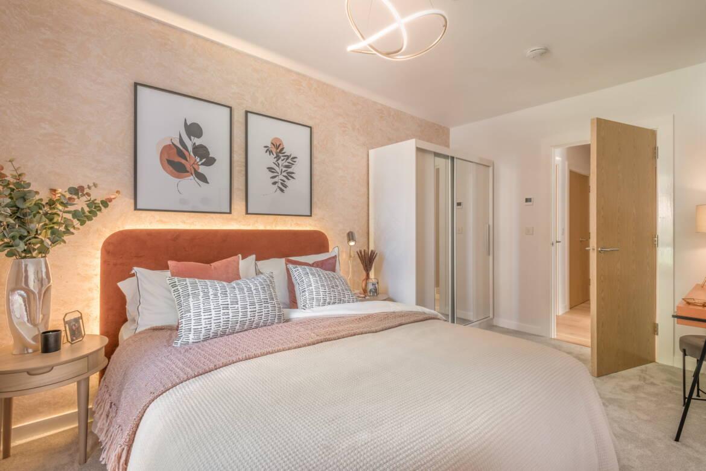 The Dice bedroom