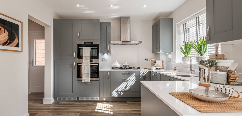 Barlow open plan kitchen