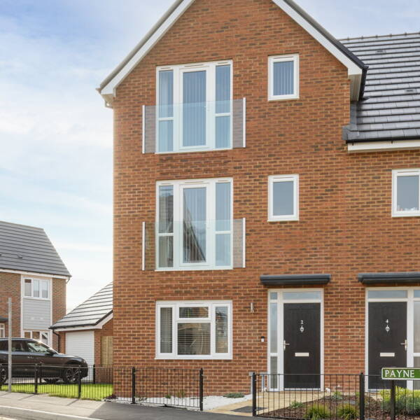 1 year on at our Heathy Wood development image
